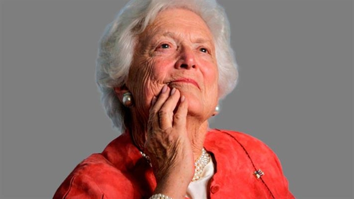 City Lowers Flags To Half Staff For Barbara Bush