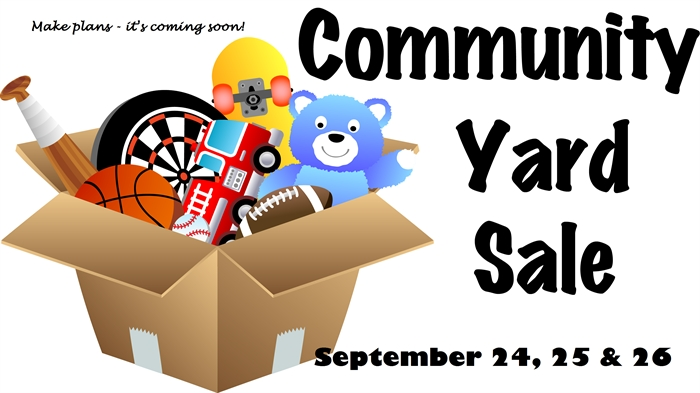 Fall Citywide Yard Sales September 24, 25 & 26 in Rising Sun