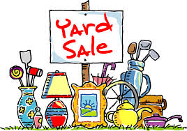 Fall Community Yard Sale Participants updated through 9/19