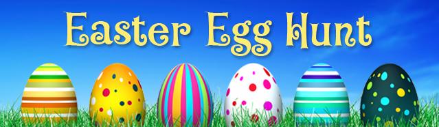 Community Easter Egg Hunt Sat., April 4 at 10:30 a.m.
