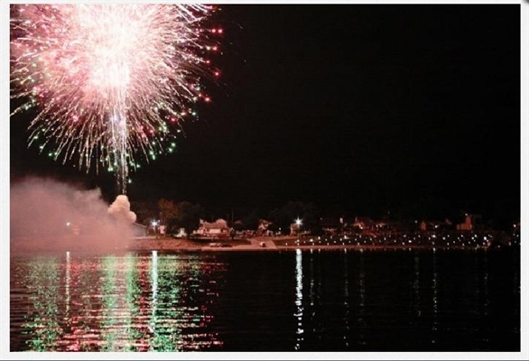 FIREWORKS ON THE RIVER – SATURDAY, JULY 4th – IN RISING SUN