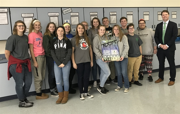 RSHS Science Club and Acts of Kindness