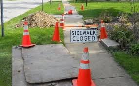 Sidewalk Repairs Begin August 9