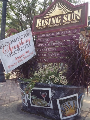Bloomington Symphony Orchestra, Saturday, August 8 at 6:00 p.m. at Main Street Pavilion