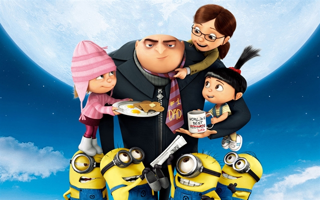Despicable Me 2 – Movie on the River, Friday August 8