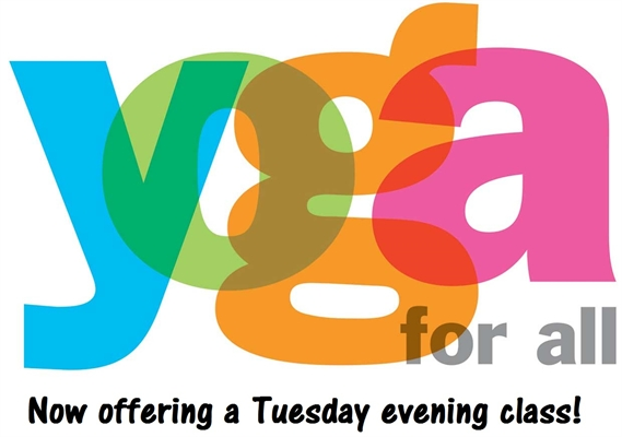 YOGA FOR ALL Tuesday Evening Class