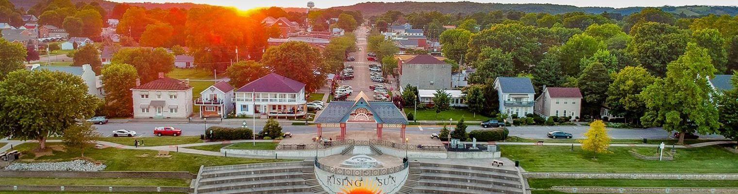 City of Rising Sun, Indiana